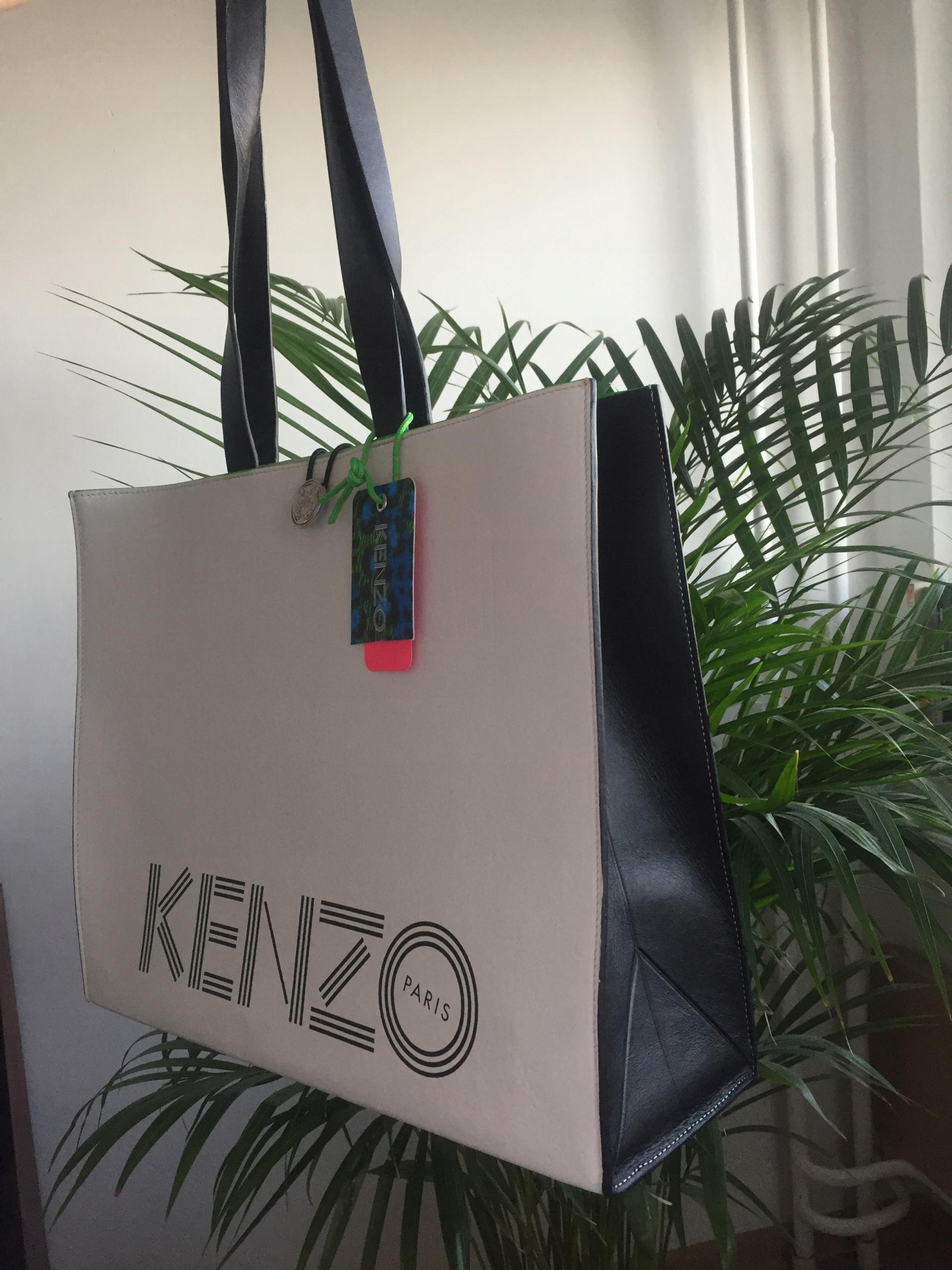 704a8bdb97bc4 Torebka shopper torba Kenzo H&M - 7470640632 - oficjalne archiwum ...