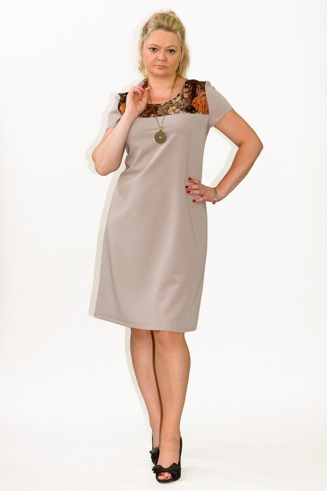 647fc61632 Sukienka PLUS SIZE r.40 wesele