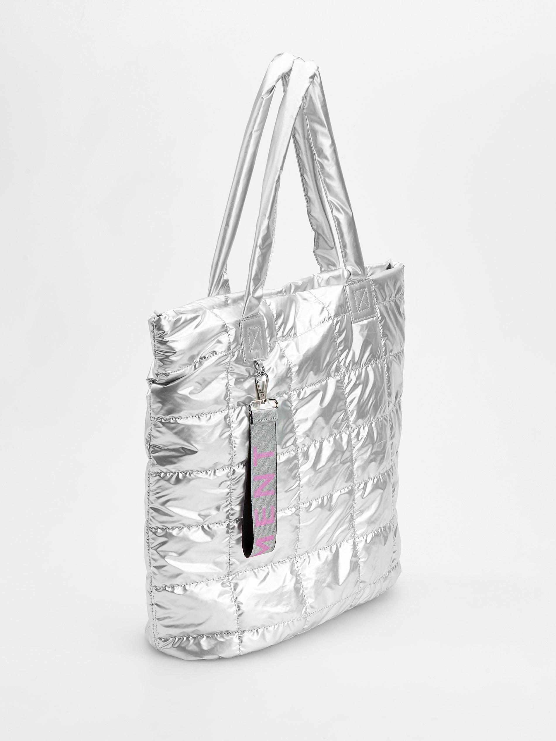 ce75b6ce336ab RESERVED pikowana torba duża srebrna NOWA - 7484461775 - oficjalne ...