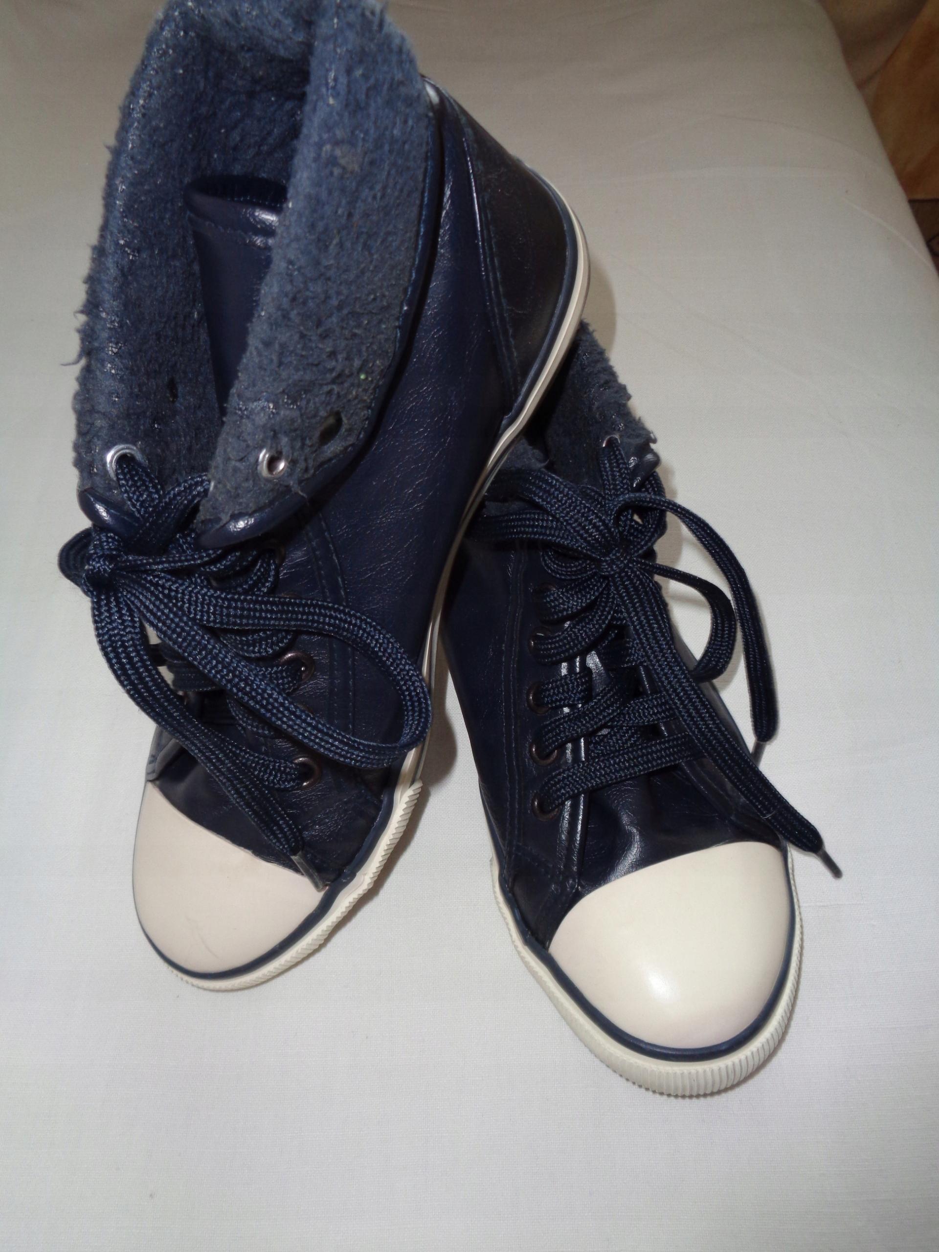 9a34950b21711 BLUE MOTION super buty w stylu trampki c.granat 37 - 7579003823 ...