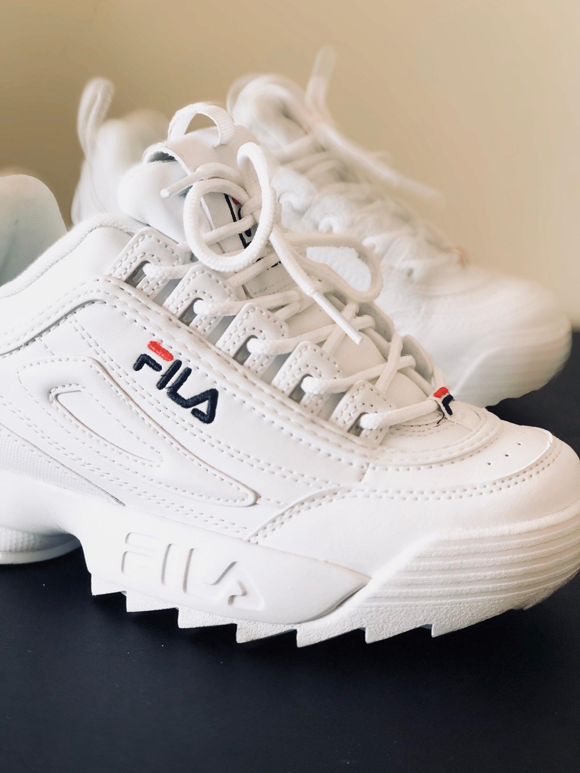 niskie ceny buty na tanie sklep w Wielkiej Brytanii BUTY FILA DISRUPTOR BIAŁE 36 - 7398505971 - oficjalne ...