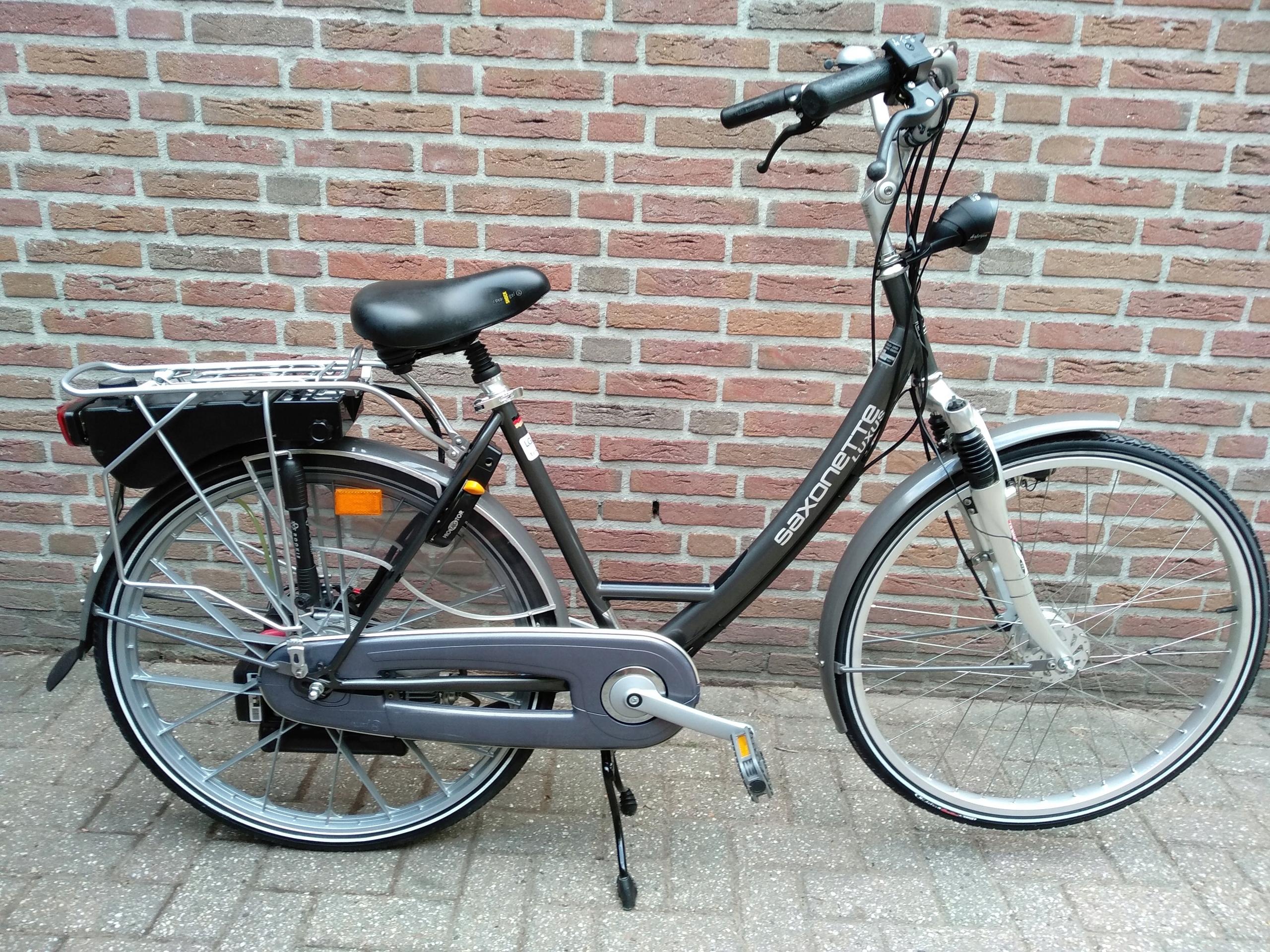 Rower z silnikiem sachs spartamet saxonette