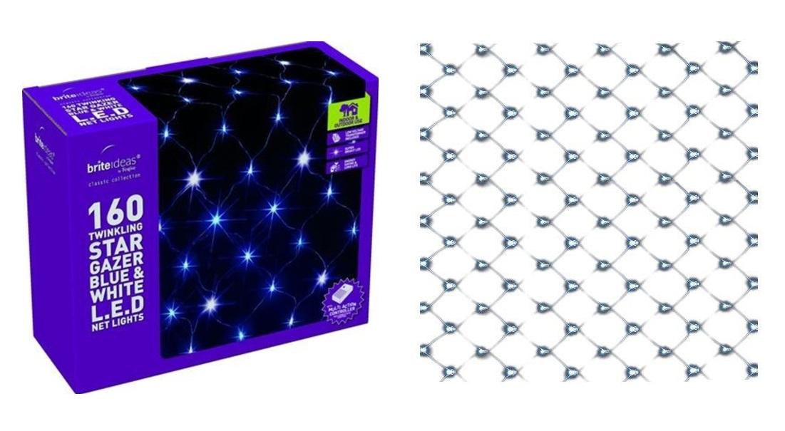 Lampki Choinkowe 160 Led Zewnętrzne Siatka Sieć 6976710530