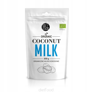 mleko kokosowe - Bio Napój kokosowy w proszku 200g