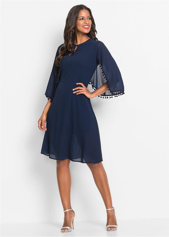 5553f7486f Sukienka niebieski 46 3XL 940015 bonprix - 7153490549 - oficjalne ...