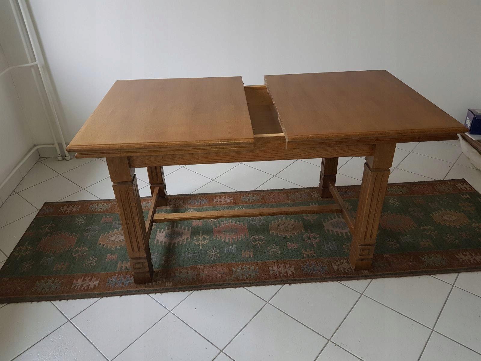 Stół Dębowy 7536726251 Oficjalne Archiwum Allegro