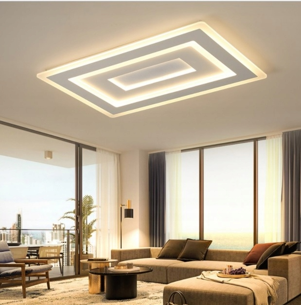 Plafon Lampa Led Zyrandol Salon Kuchnia Jadalnia 7560741814