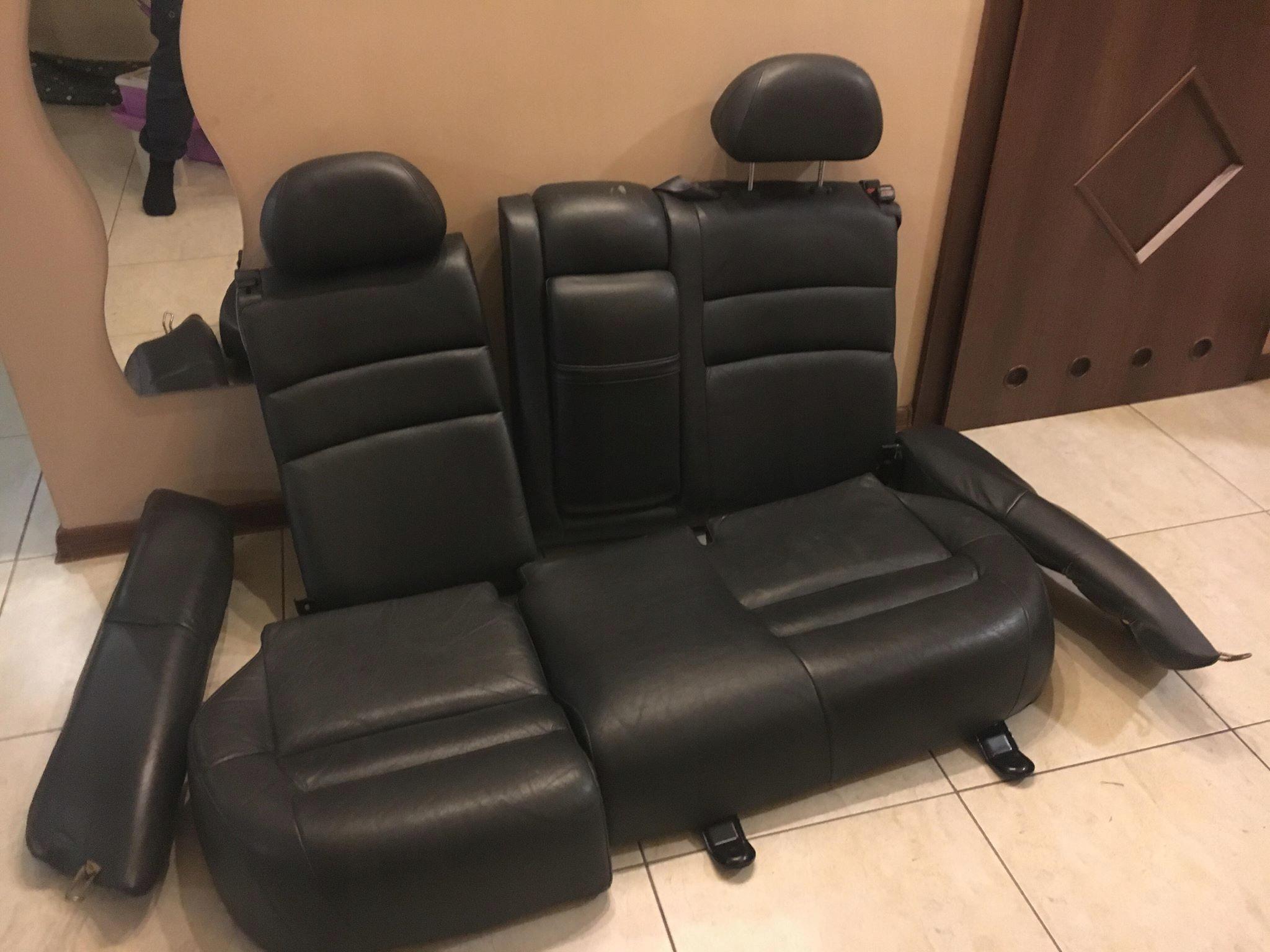 Fotele Siedzenia Skórzane Volvo V40 Carisma 7733364427