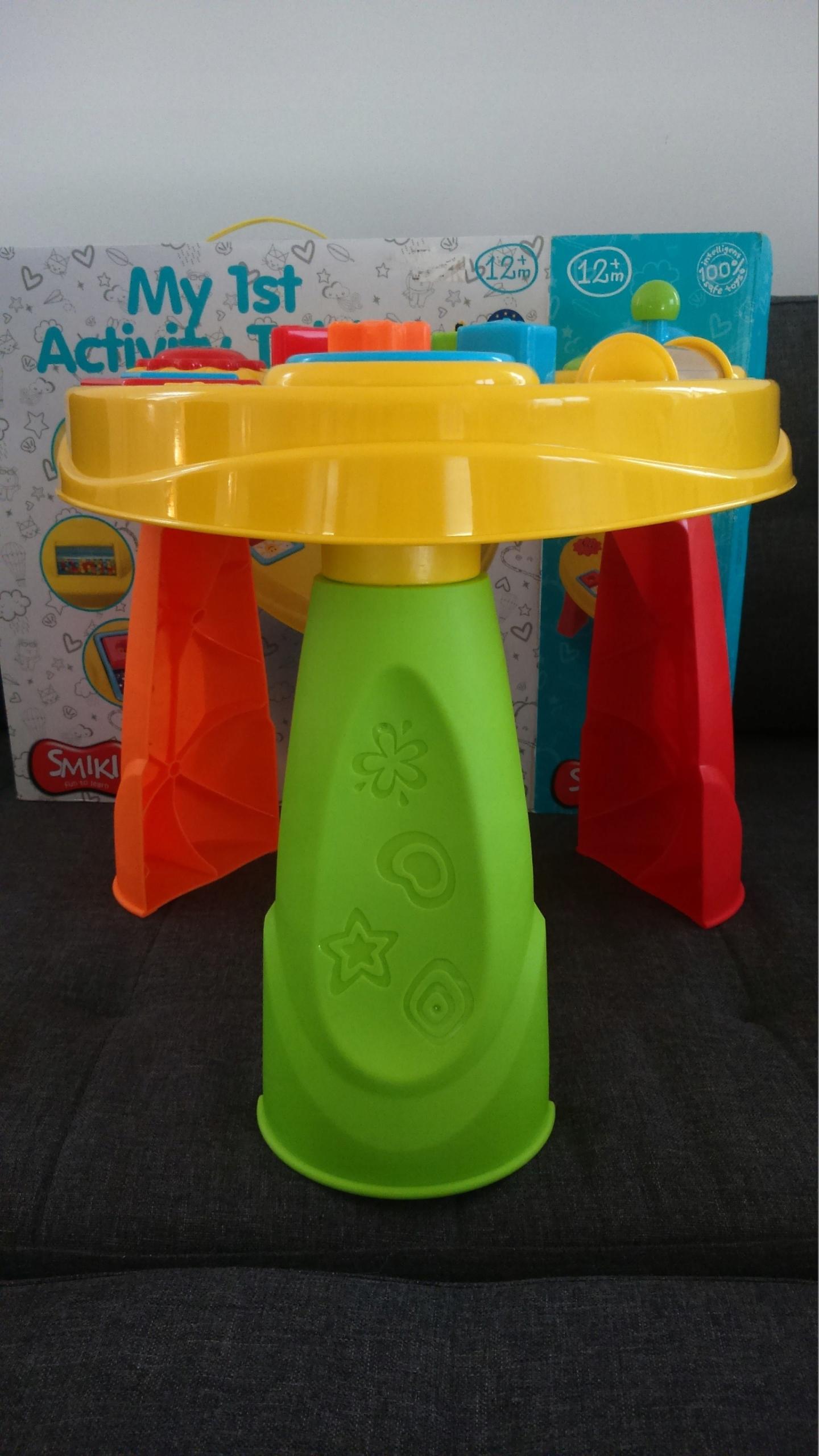 Smiki Smyk Stolik Edukacyjny My 1st Activity Table