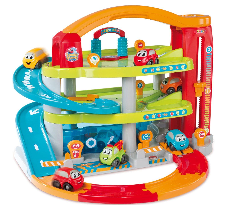 Piętrowy Garaż Dla Dzieci 8 Autek Vroom Smoby 7066335558