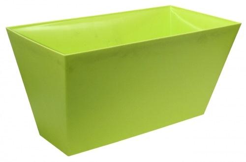 Doniczka Prostokątna Plastikowa Kolory Duża 60x33