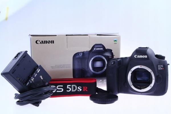 INTERFOTO: Canon EOS 5Ds R 5DSR 22 tys zdj gwaranc
