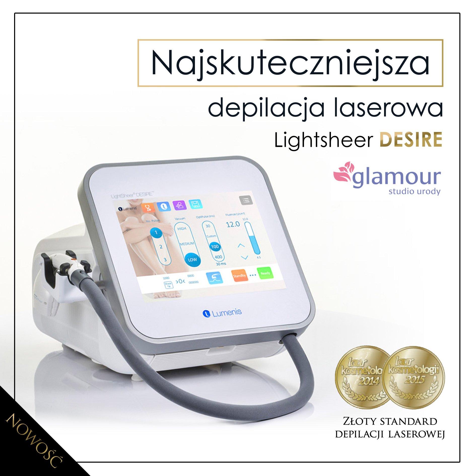 Niewiarygodnie Laser diodowy Light Sheer Desire Light NOWY ! - 7047844070 MF12