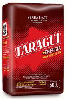 Yerba Mate TARAGUI Energia Guarana 0,5 kg