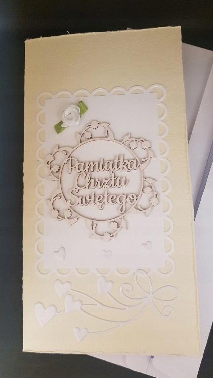 Kartka Pamiątka Chrztu Swietego 7514319153 Oficjalne Archiwum