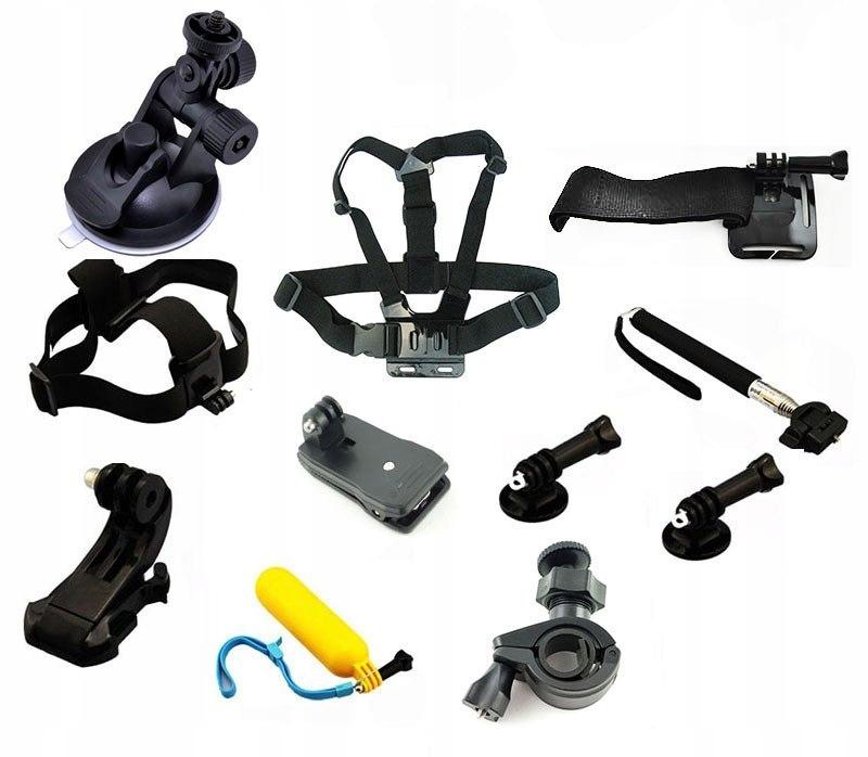 Zestaw części do GoPro ZDX-133 11 elementów