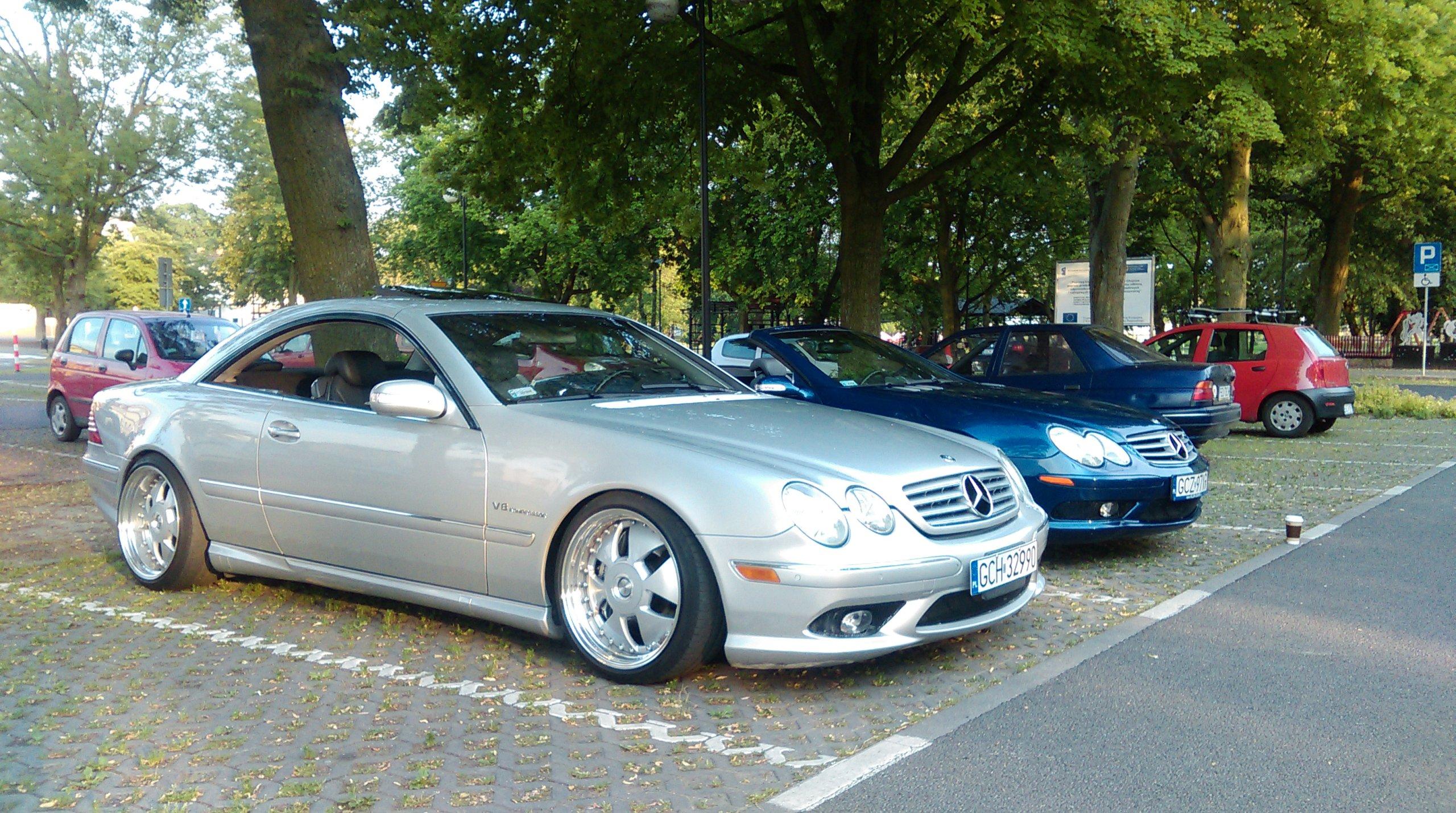 Mercedes Benz CL55 AMG 500KM PILNA SPRZEDAZ