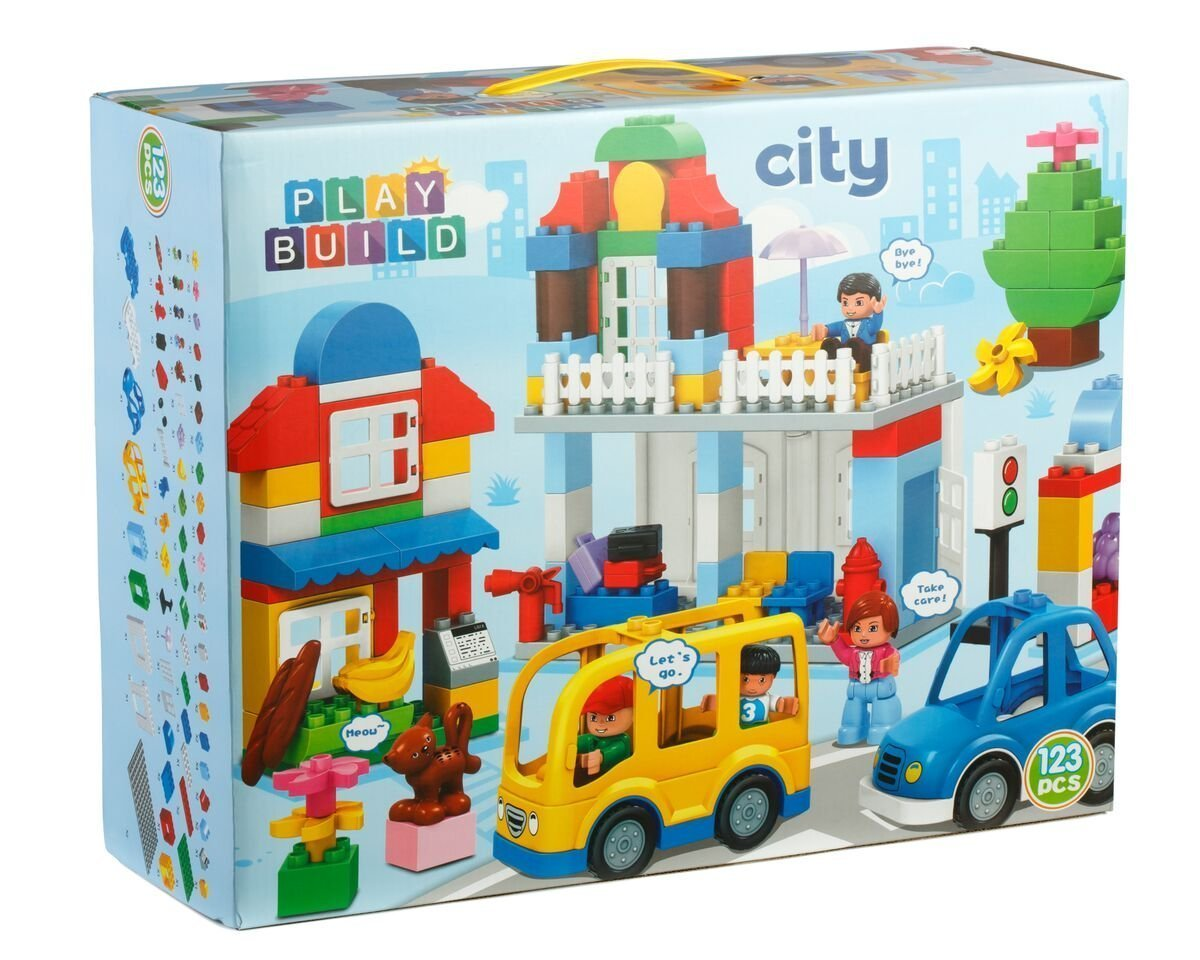 Klocki Play Build 123 El Jak Duplo Kompatybilne 7349493989