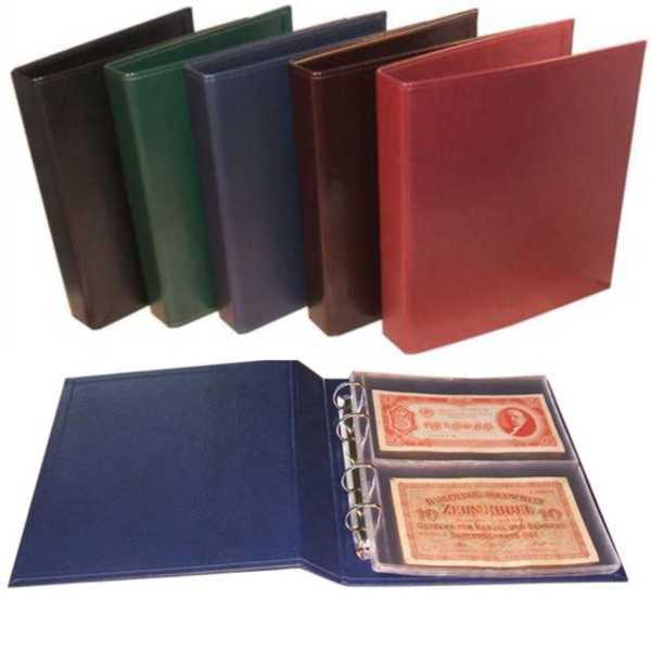 Album na banknoty 23 x 26 cm 901-T2 brąz