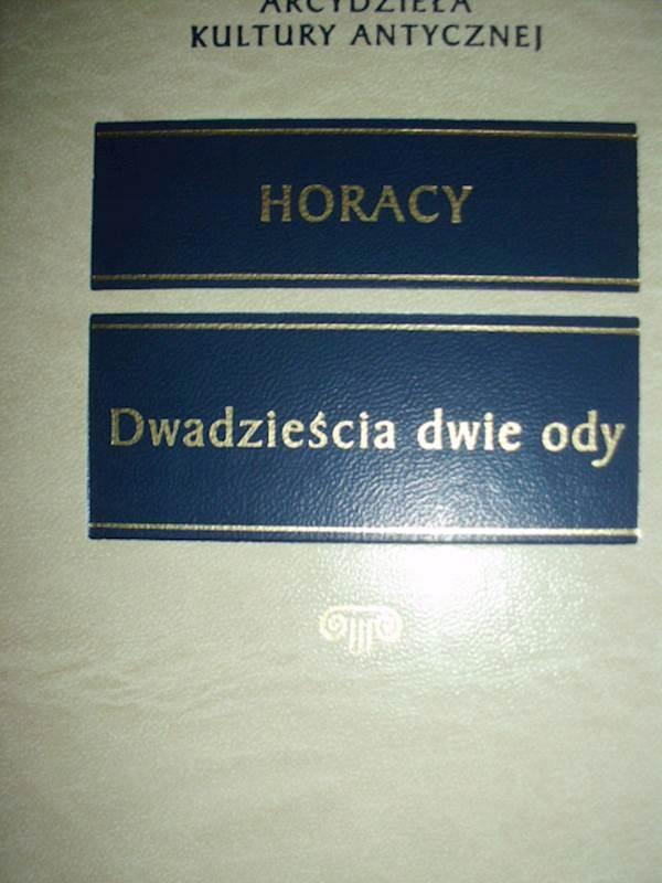 Dwadzieścia Dwie Ody Horacy 2004 24h 7010315364
