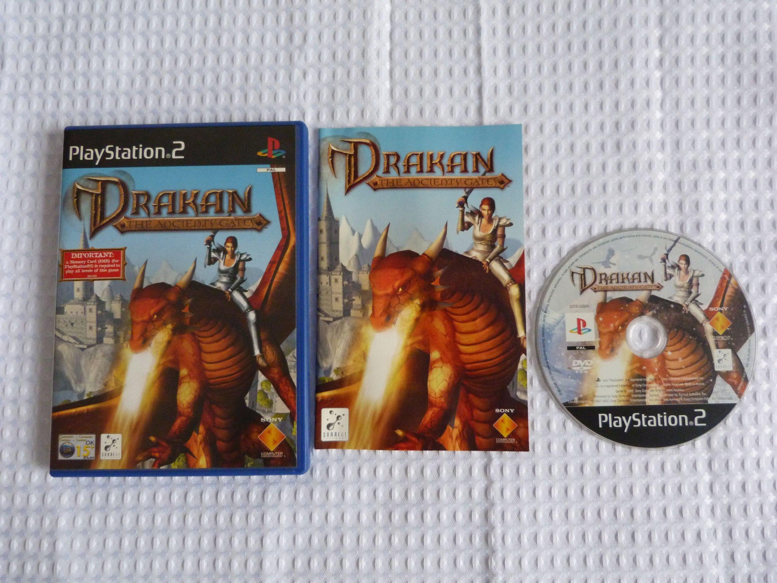 DRAKAN THE ANCIENTS GATES Gra na PS2