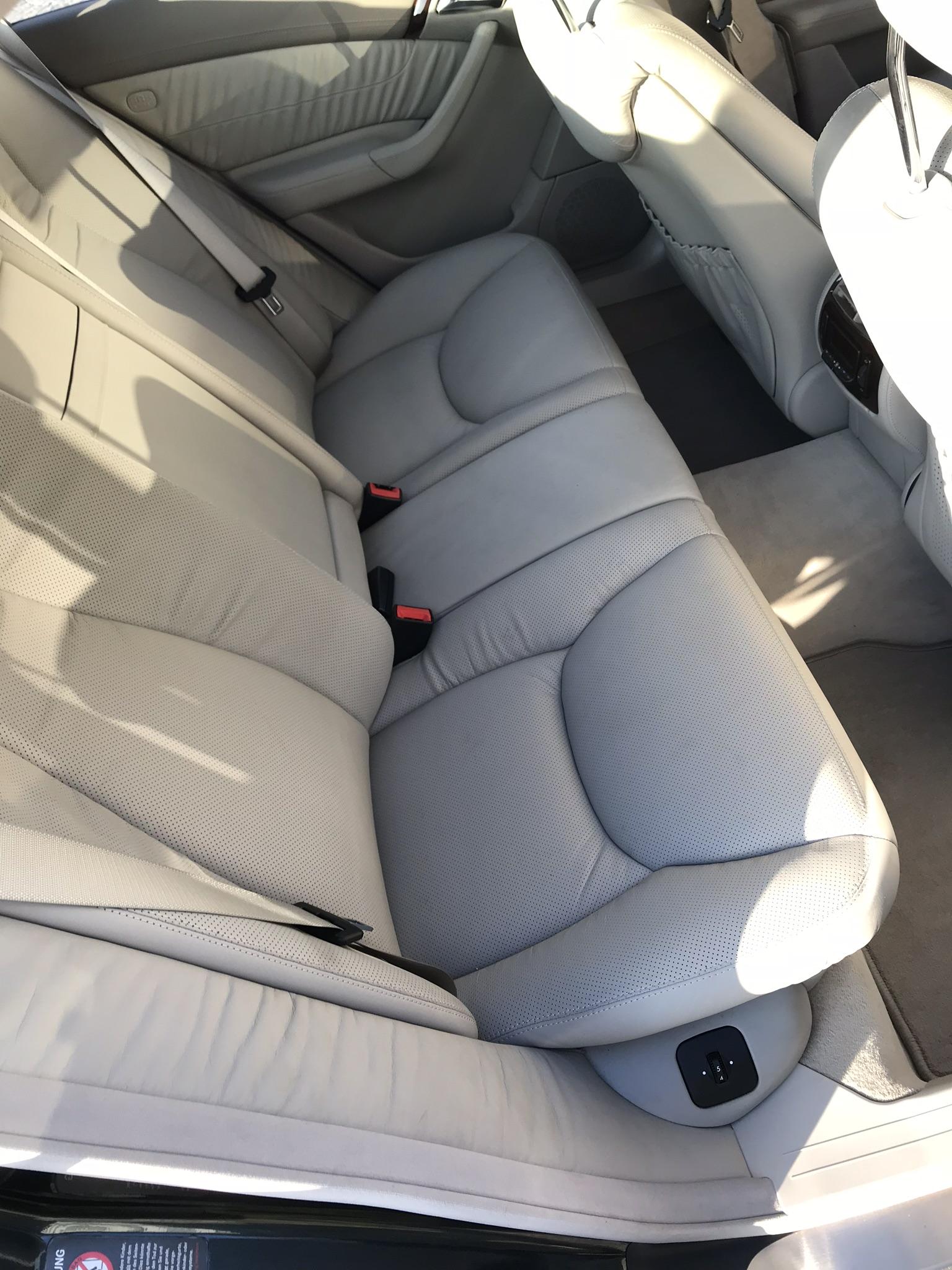 Mercedes S55 AMG wspaniały oficjalne archiwum allegro