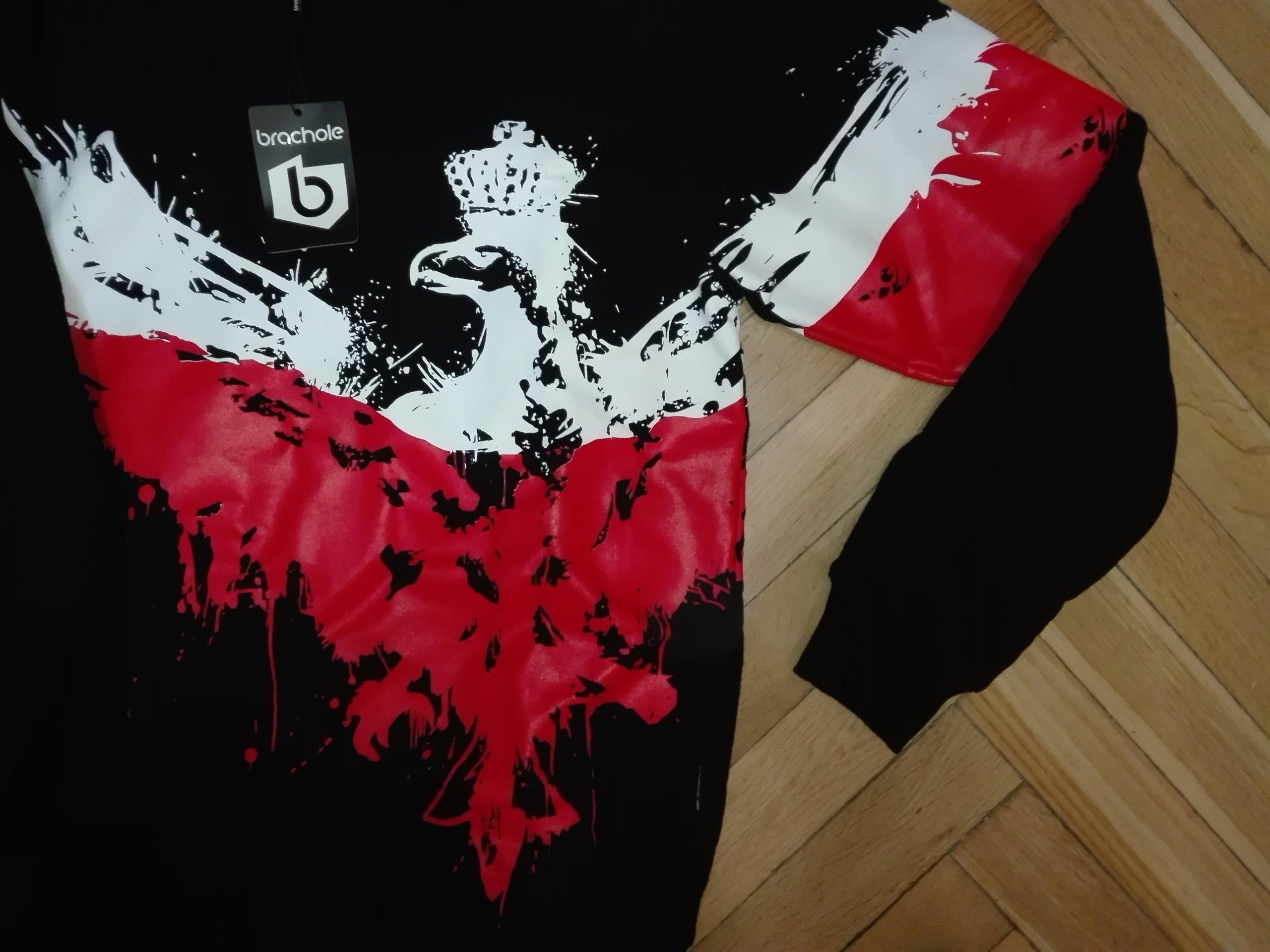 b3d86fe45fe6 Bluza patriotyczna Orzeł Godło - 7114435906 - oficjalne archiwum allegro