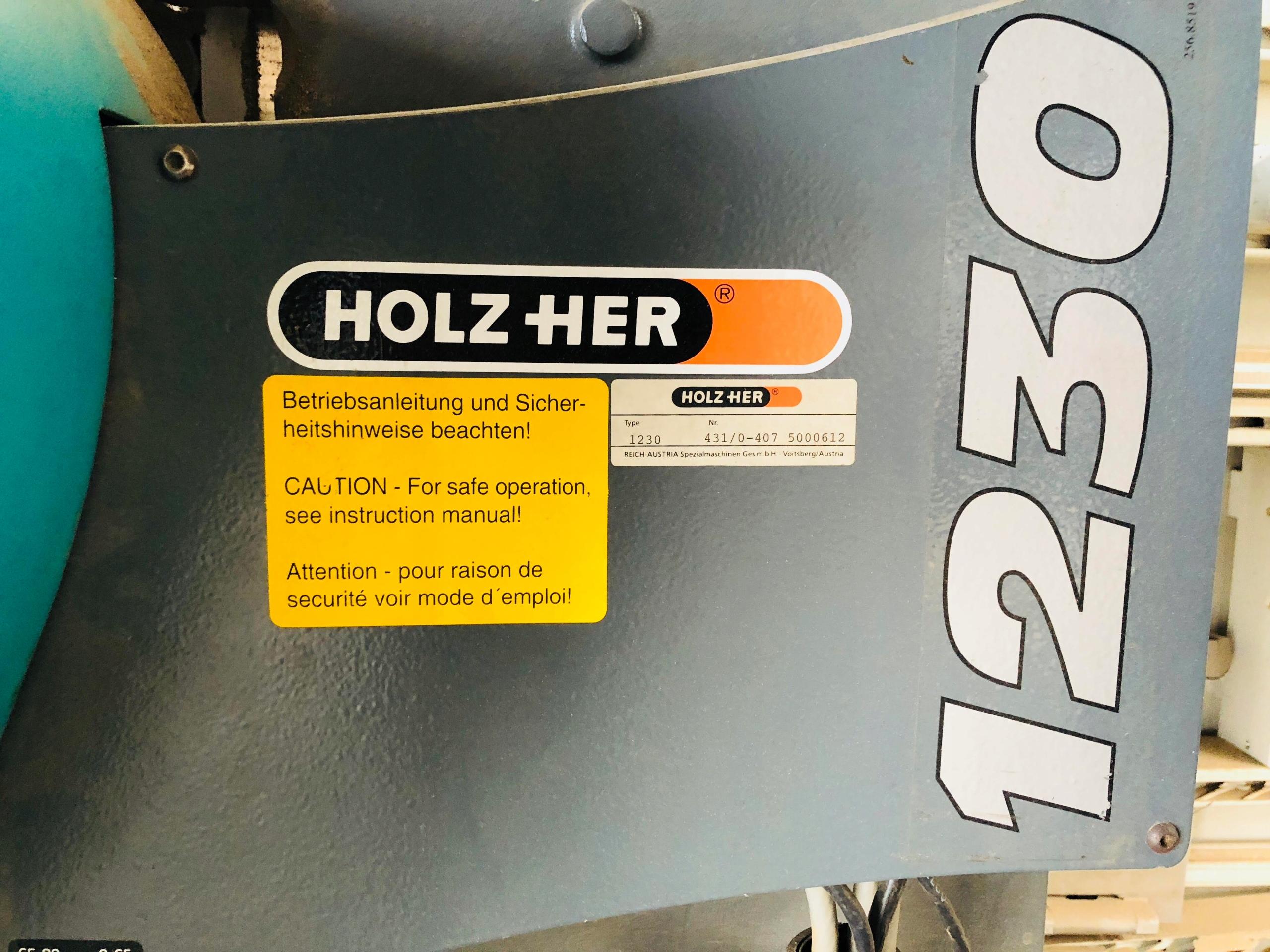 Pionowa piła do płyt Holz Her 1230 - 7713701052 - oficjalne archiwum