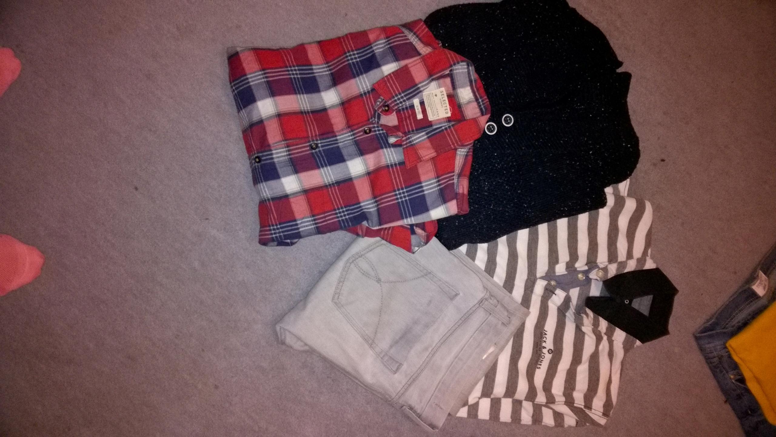 Okazja! Zestaw markowych ubrań męskich r L/XL