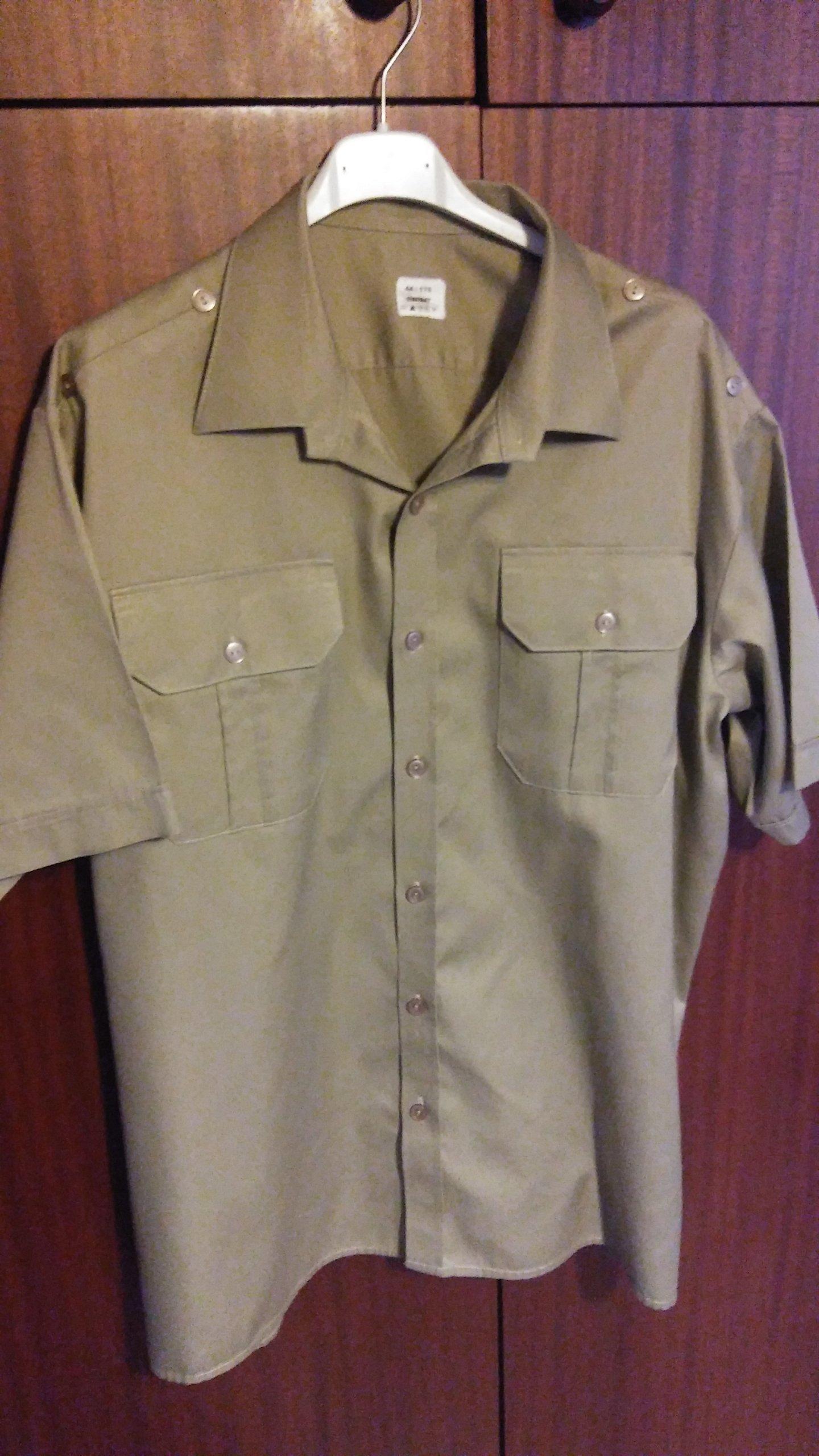 cd9a1977204dbb Koszula oficerska WP (krótki rękaw) MON 44/175 - 7707718946 ...