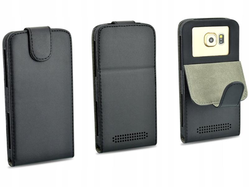 Etui czarne do telefonu KARBONN Titanium S11