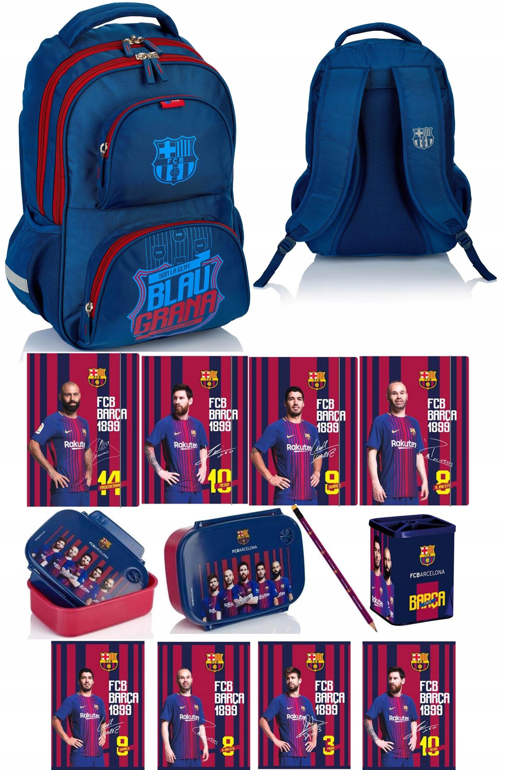 3e9dfae9f18af Plecak szkolny FC Barcelona FC-189 Astra + GRATIS - 7474680055 ...