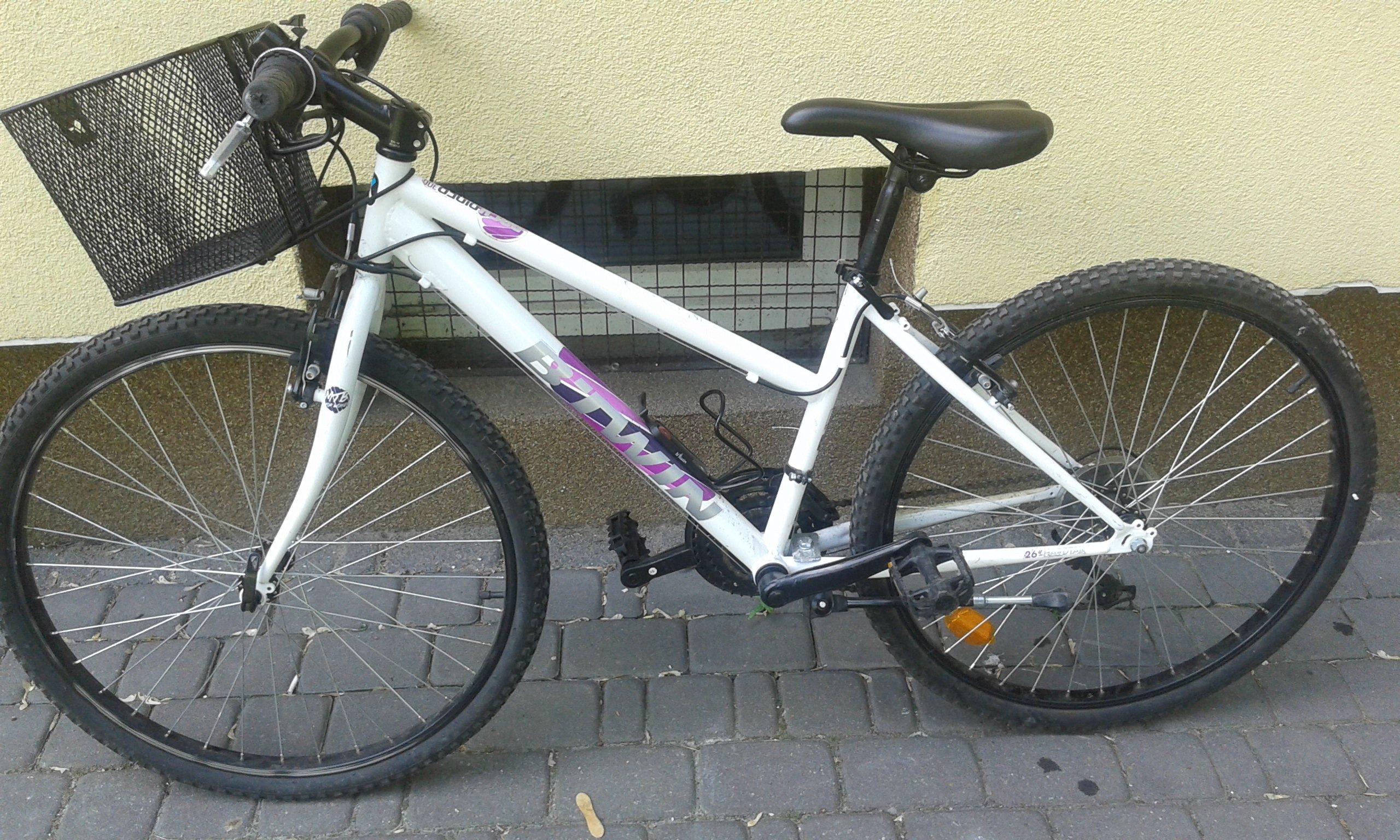 45f37aaac Rower BTWIN decathlon 26 cali dziewczynka - 7310778675 - oficjalne ...