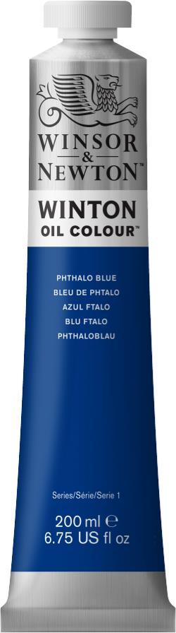 WINTON Phthalo Blue 200 ml - Farba olejna