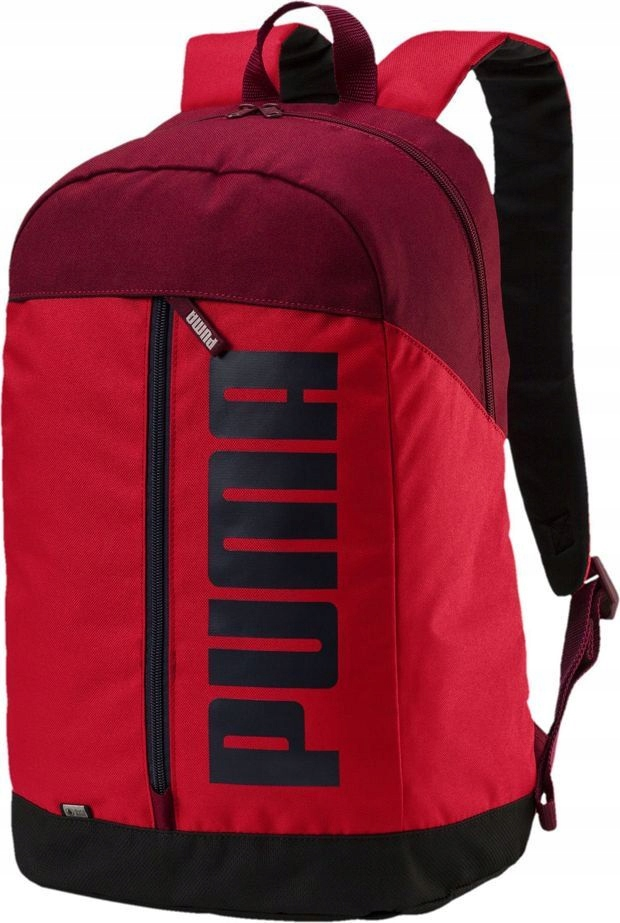 Puma Plecak sportowy Pioneer II 23L czerwony (0751
