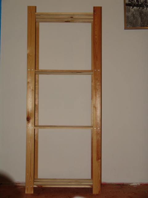 Regał Półki Drewniane Ikea Albert H159 Cm 4 Półki