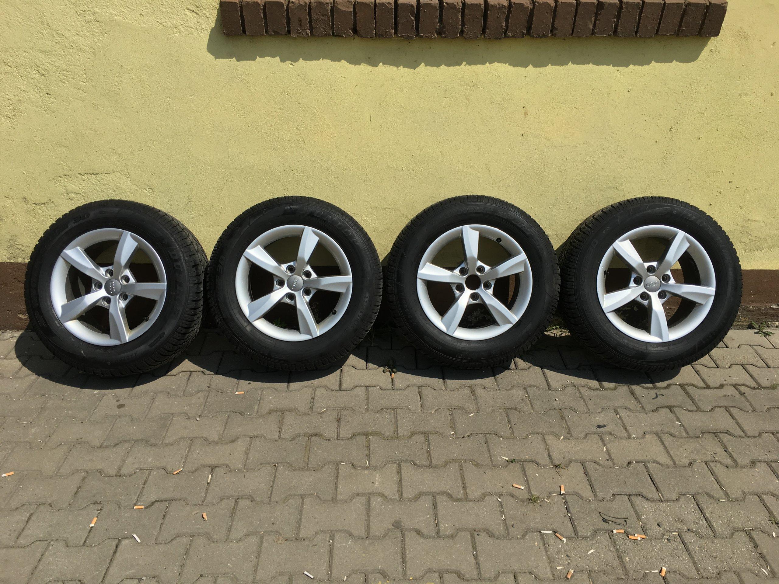 Audi A6 4g C7 Koła 16 Zimowe Opony 2256016 7457761696