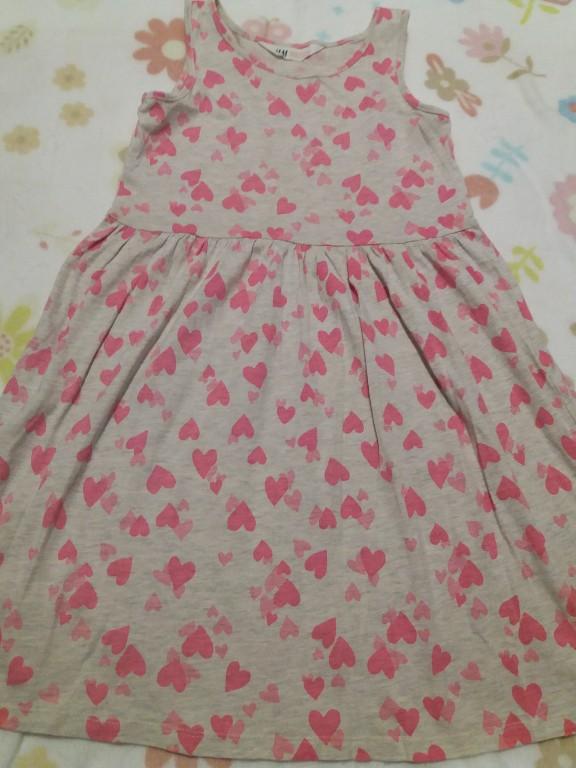 e80d94574f Letnia dziewczęca sukienka H M rozm 134 140 - 7306780768 - oficjalne ...