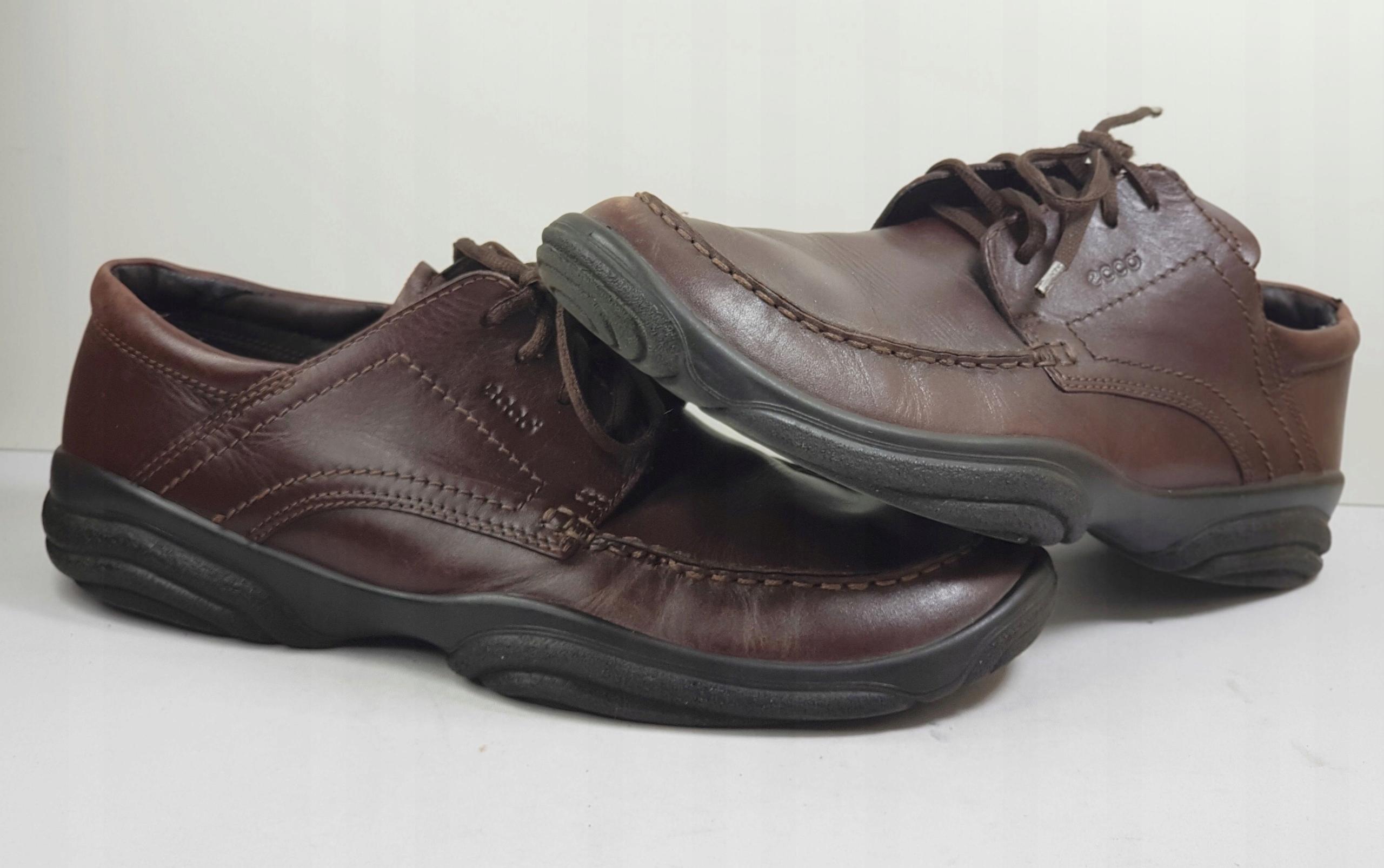 9d290c05e9f21 ECCO skórzane buty męskie r.46 - 7453224444 - oficjalne archiwum allegro
