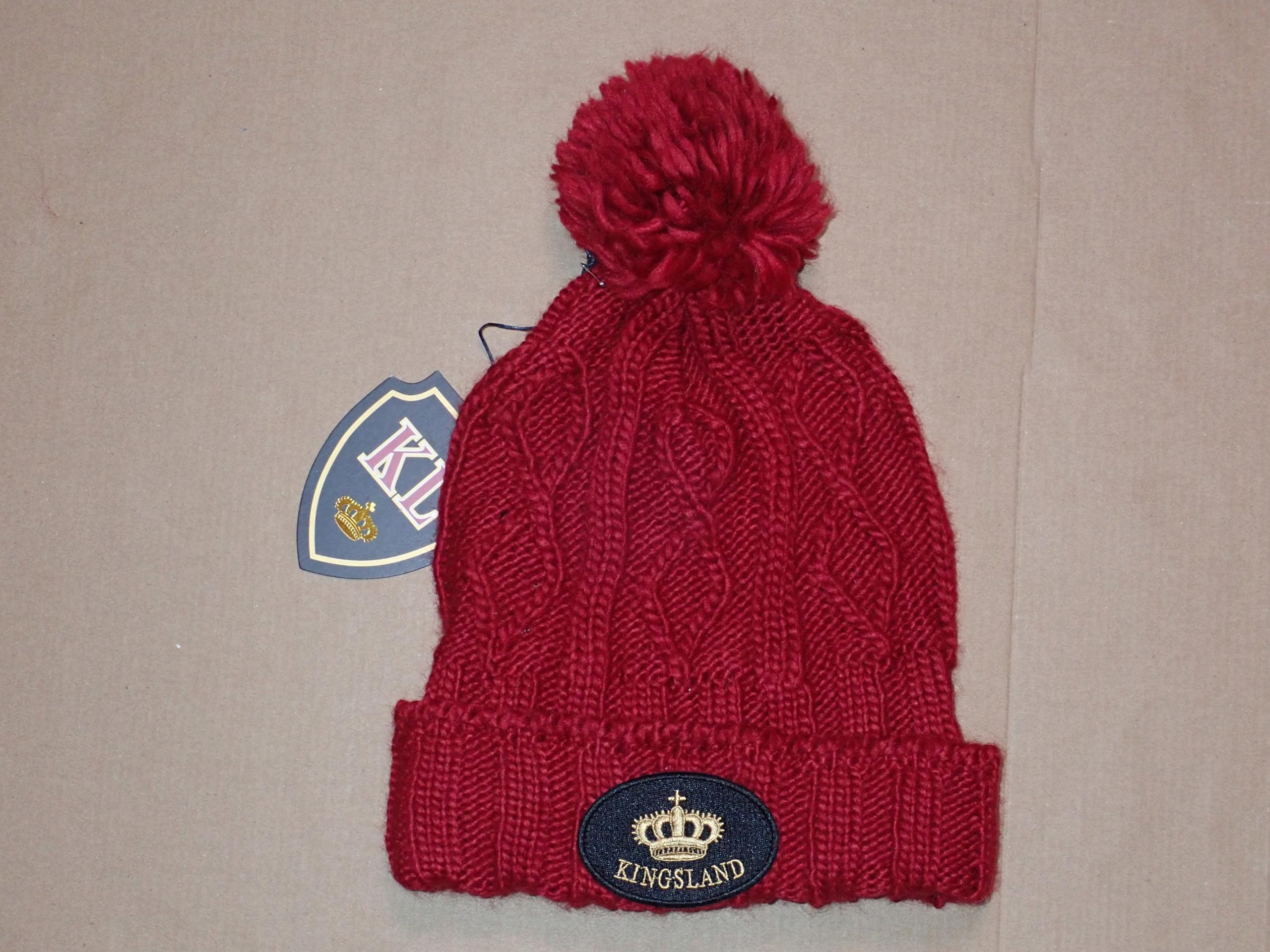 7fa361b5dffcdc KINGSLAND - czapka unisex, 50% MERINO - NOWA - 7689667807 ...