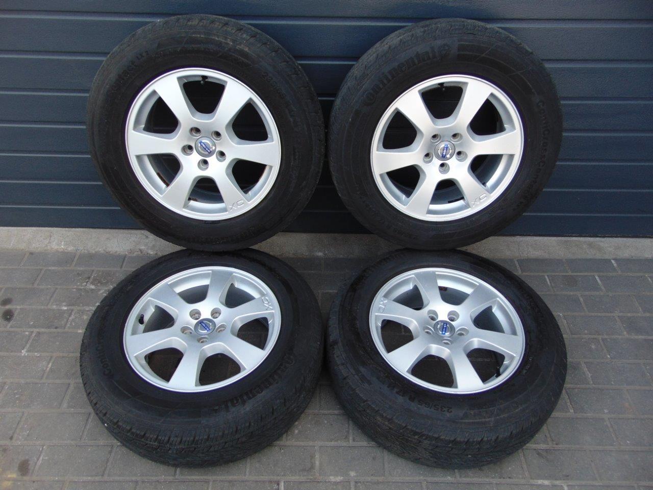 Volvo Xc60 Xc70 Xc90 Felgi Aluminiowe Opony 17 7262692126