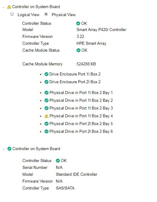 HP Proliant DL380P G8 2xE5-2620 6xSAS 15k 80GB RAM