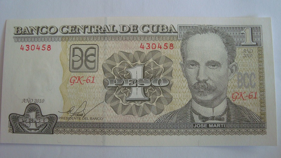 1 Peso Kuba,UNC