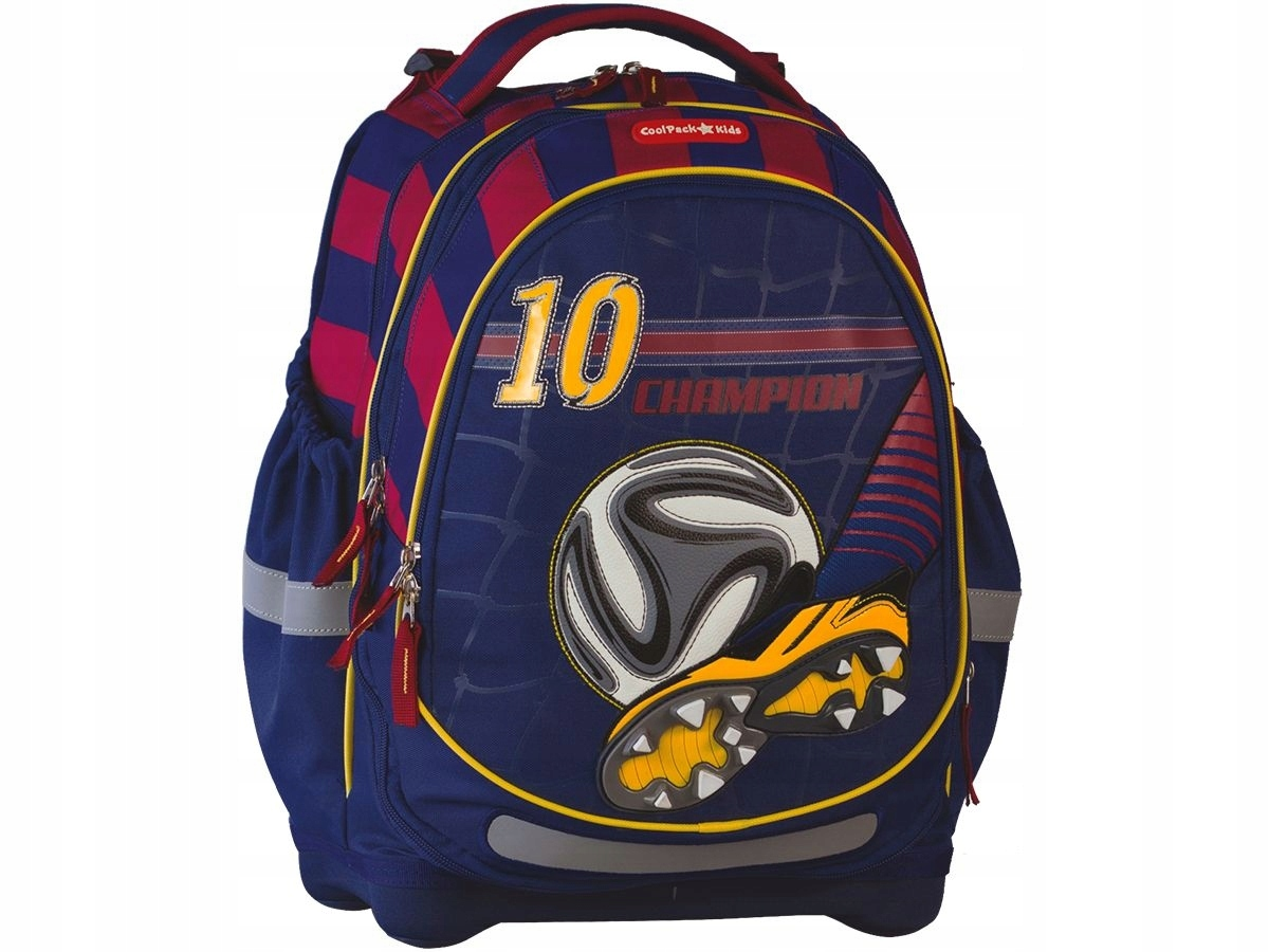 6ee1358dd3194 Plecak Coolpack Kids rozszerzalna komora Football - 7476874980 ...