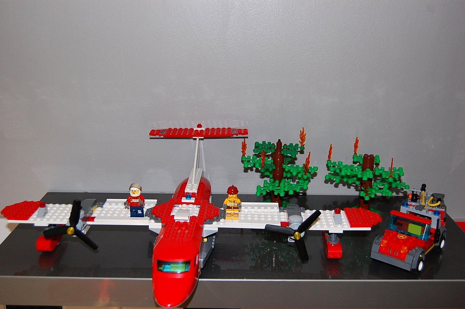 Lego City 4209 Samolot Strażacki 7297627518 Oficjalne Archiwum