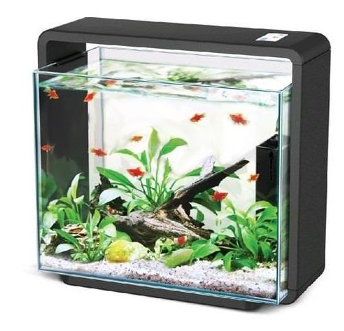 Akwarium 15l HAILEA E15x czarne + LED i filtr