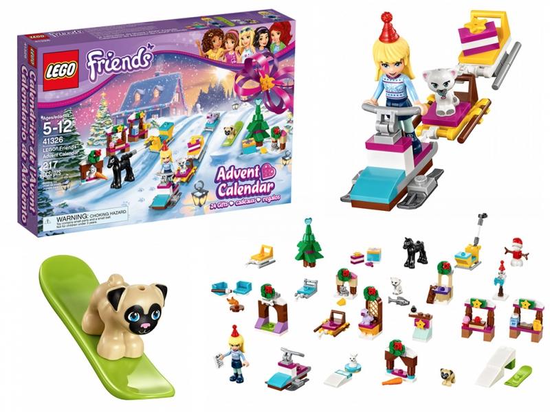 Sklep Lego Friends 41326 Kalendarz Adwentowy Bony 7091924594