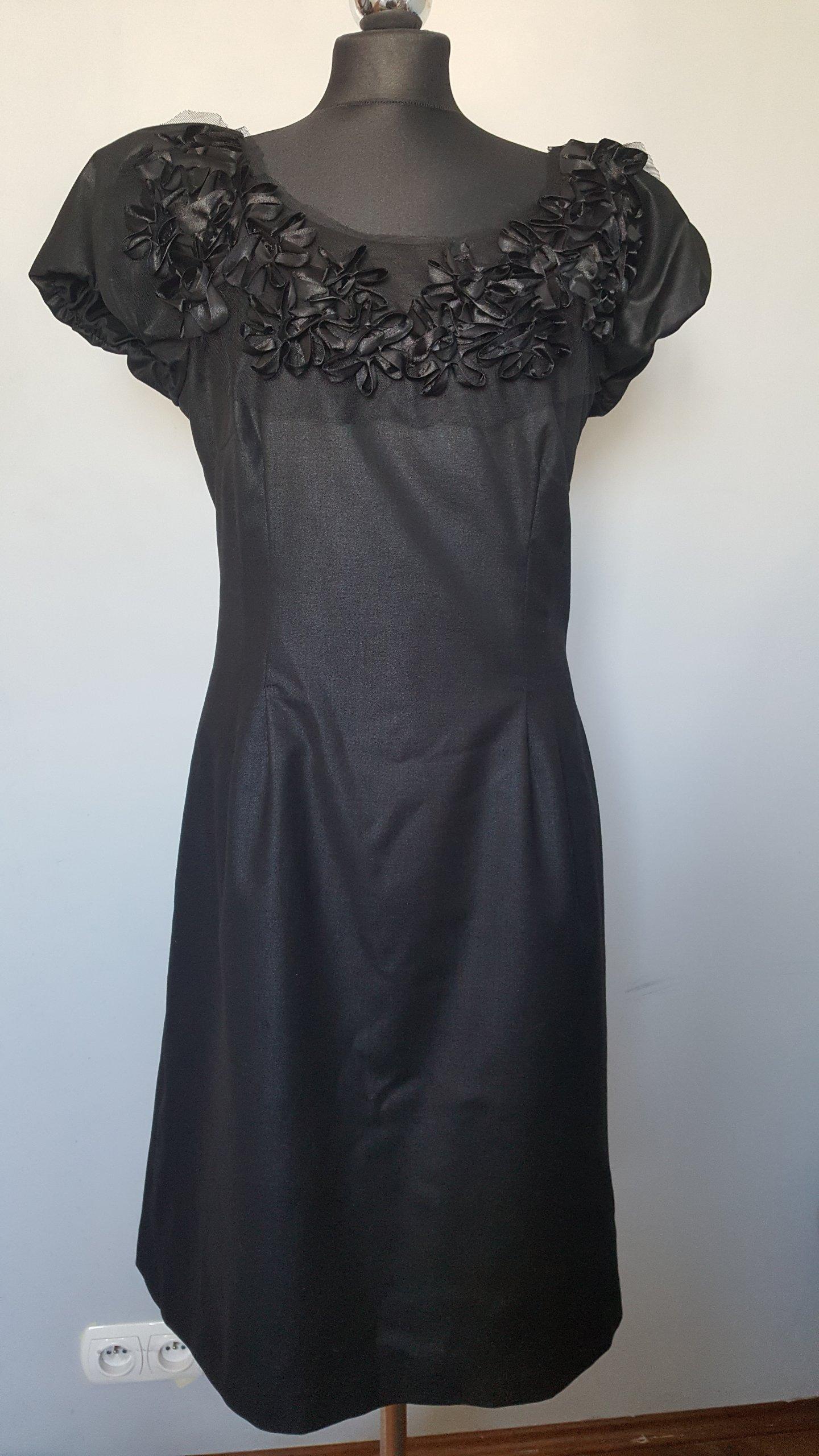 8c6a31c62c SIMLPLE czarna koktajlowa sukienka r.44 - 7242634464 - oficjalne ...