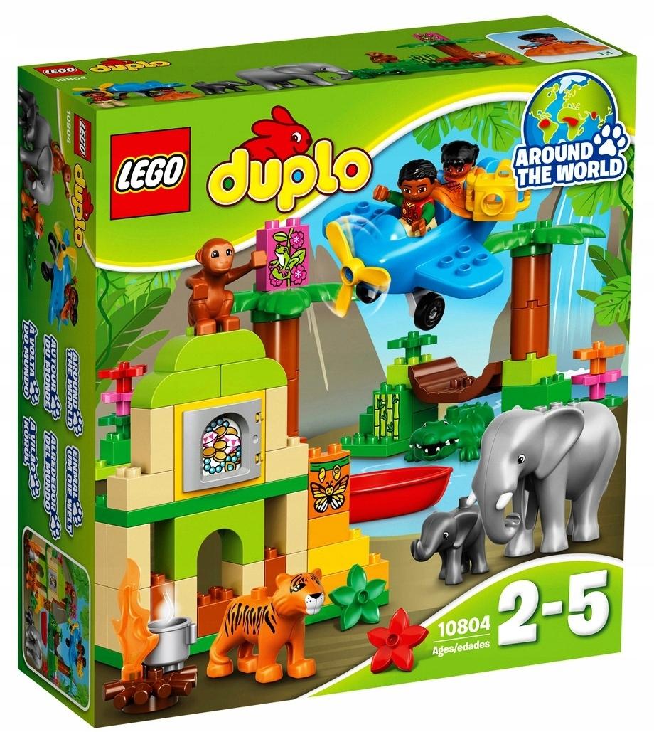 Lego Duplo 10804 Dżungla Zwierzęta Samolot Klocki 7532155547