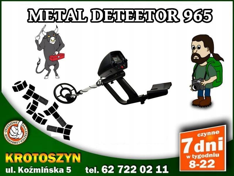 METAL DETECTOR 965/PUDEŁKO